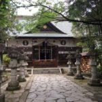 旅行(交通)安全の祈願に 住吉神社(甲府市)に参拝に行ってきました